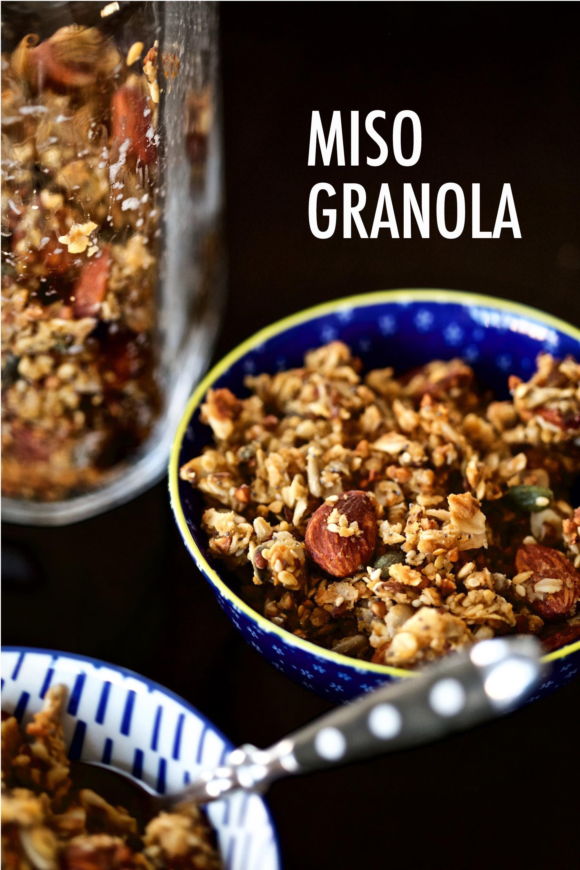 Miso Granola (sin gluten)
