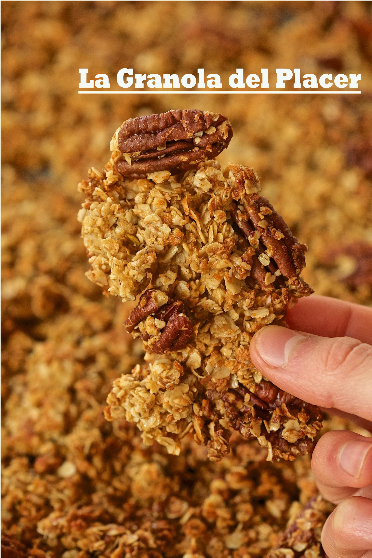 La Granola del Placer (sin gluten, paso a paso)