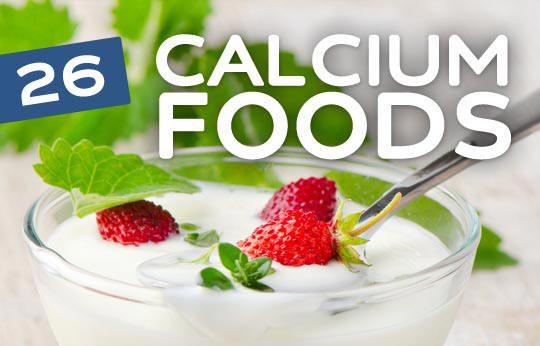 الكالسيوم لصحة وحيوية جسم الإنسان