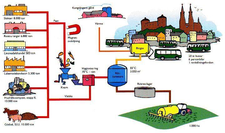 استثمار النفايات لحماية البيئة وزيادة الطاقة
