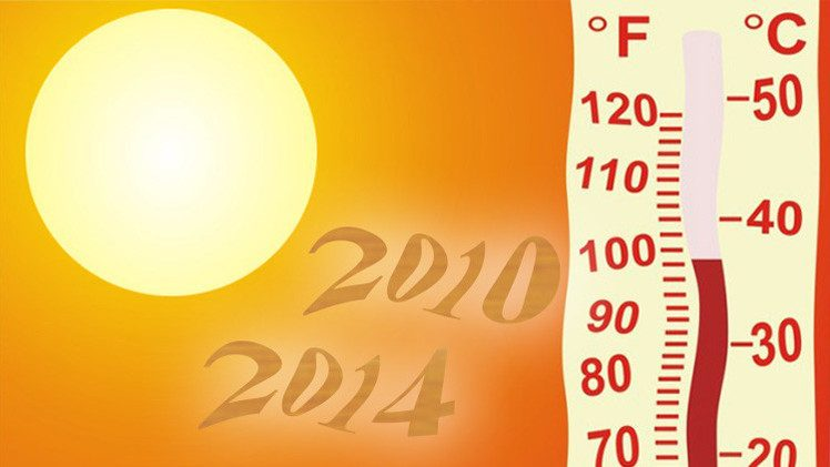 بيانات بريطانية تشير إلى أن عامي 2014 و2010 الأكثر حرارة في التاريخ