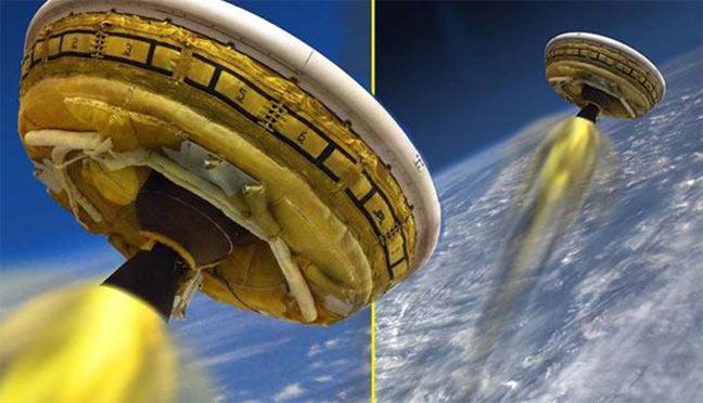 ناسا تستعد لاختبار أول أطباقها الطائرة
