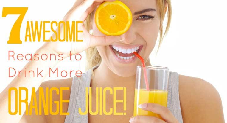 سبع فوائد تجبرك على تناول عصير البرتقال يومياً