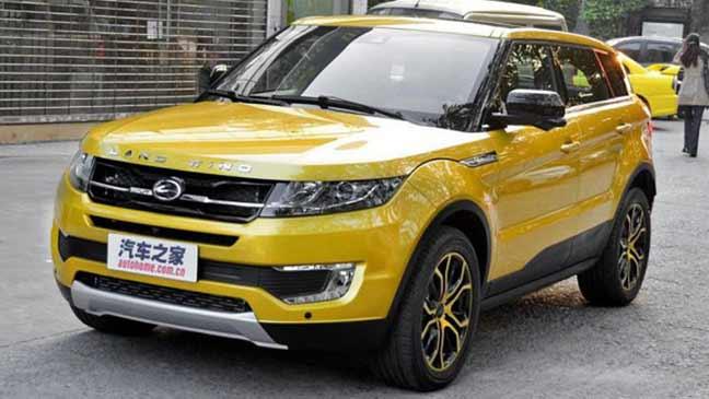"""محكمة صينية تُثبت شرعية نسخة صينية لـ """" Range Rover Evoqe """""""