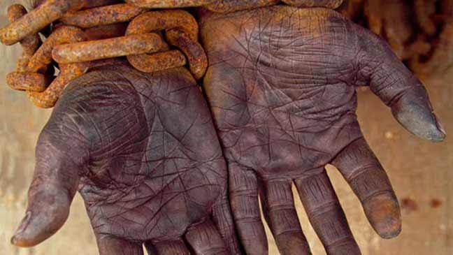 قرابة 40 مليون شخص يعانون العبودية الحديثة في العالم
