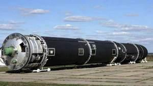 """صاروخ """"سارمات"""" الباليستي الروسي يثير قلقا شديدا في الولايات المتحدة"""