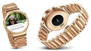 """ساعة ذكية راقية مطلية بالذهب من """"هواوي"""" الصينية"""