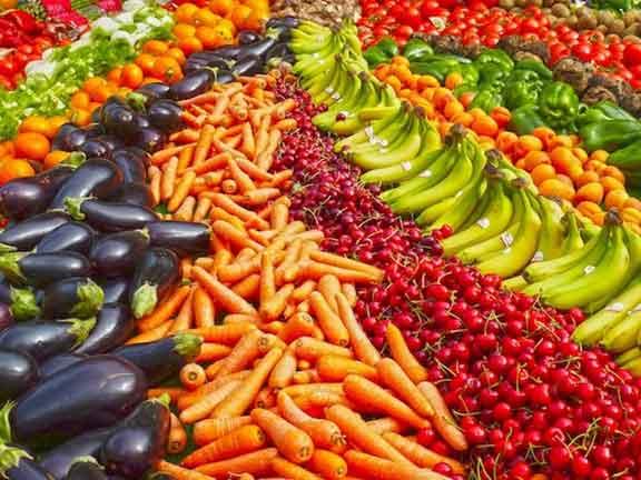خمسة  حبّات من الخضار والفاكهة لا أكثر ولا أقل…؟