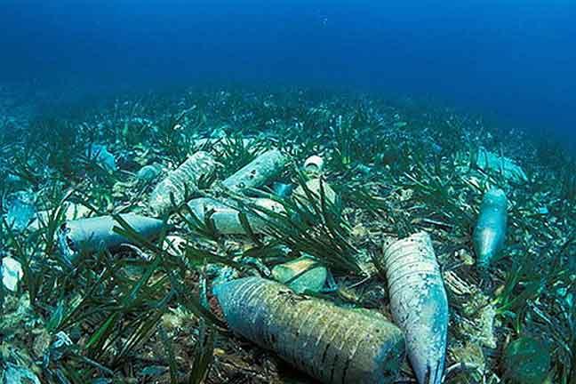 تلوث البشر وصل أعماق البحار