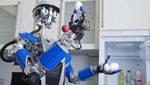 روبوت لغسل الصحون وأدوات الطبخ