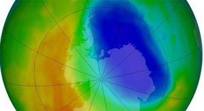 ثقب الأوزون يتوسع ليتجاوز مجموع مساحتي كندا وروسيا معا