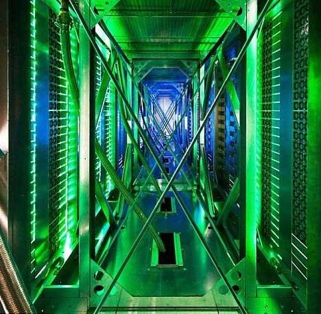 مركز بيانات شركة غوغل في دالاس