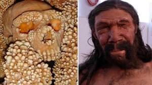 إعادة تشكيل وجه رجل عمره 150 ألف عام