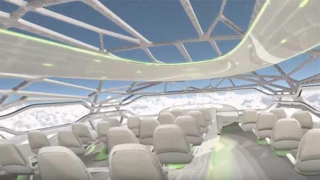 """تصميم ثوري جديد من """"إيرباص"""" ينهي عهد الطائرات التقليدية"""