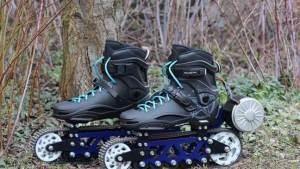 تطوير حذاء تزلج على شكل دبابة من أجل الطرقات الوعرة