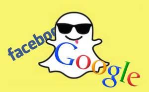 فيسبوك وغوغل وسناب شات