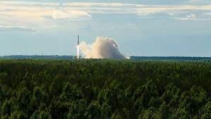 """إطلاق صاروخ """"سويوز"""" مع """"غلوناس - أم """""""