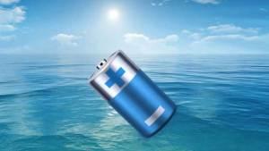 اختراع بطارية تعمل بالشمس والماء