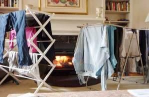 مرض خطير يسببه تجفيف الملابس داخل المنزل
