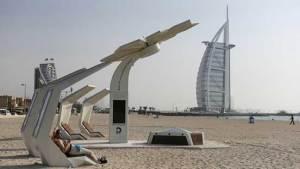 شواطئ ذكية في مدينة دبي