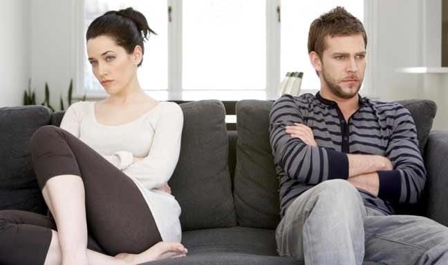 التعاسة الزوجية لها آثار إيجابية على صحة الرجال
