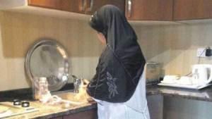خادمة أثيوبية تسدد عدة طعنات لكفيلتها وترديها قتيلة
