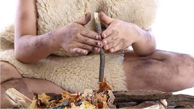 اكتشاف الإنسان للنار ومرض السل