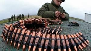 تجربة رصاصة ذكية في روسيا