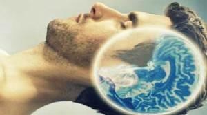 دماغ الإنسان في حالة النوم
