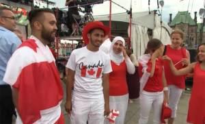 دموع سورية تثير مشاعر الكنديين في عيدهم الوطني