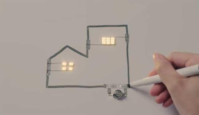 اليابان تقدم قلم حبر مُدهش موصل للكهرباء