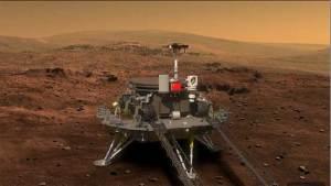 صور أولية لمسبار الصين الذي سيطلق إلى المريخ