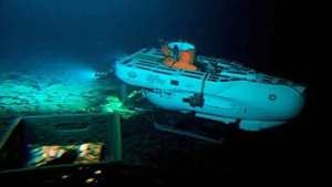 كائنات غريبة في أعماق المحيط الهادئ