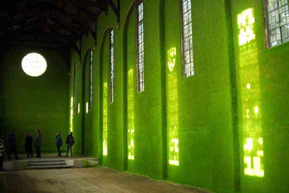 كنيسة في لندن تم تحويلها إلى متحف للفنون الجميلة