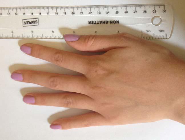 أطوال أصابع اليد تدل على ميول الإنسان