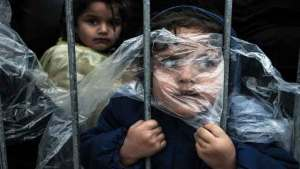 صورة الطفلة اللاجئة مجهولة الهوية