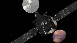 """مسبار بعثة """"أكزومارس"""" يستعد للهبوط على سطح المريخ"""