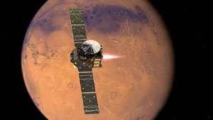 """مسبار """"سكيباريلي"""" تائه على سطح المريخ"""
