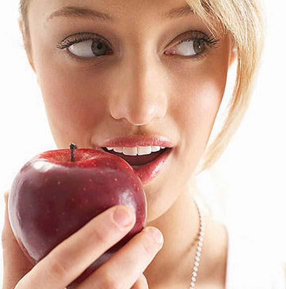 التفاح يقاوم أورام القولون والمستقيم