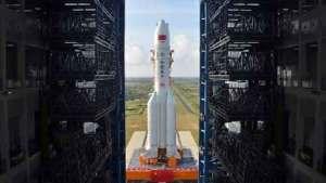 الصين تطلق أكبر صاروخ ناقل بنجاح