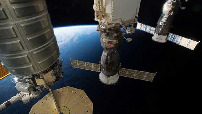 تشكيل جاذبية اصطناعية في المحطة الفضائية الدولية