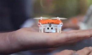 أصغر كاميرا تجسس طائرة في العالم