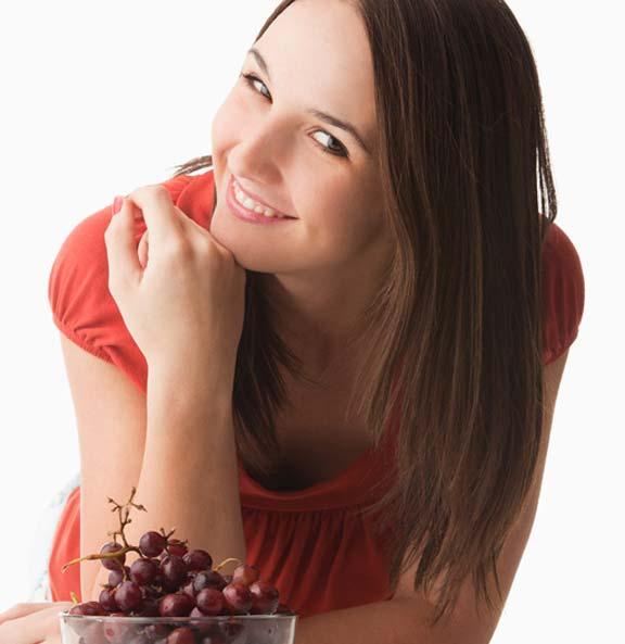 قشور العنب الأحمر توقف زحف الشيخوخة