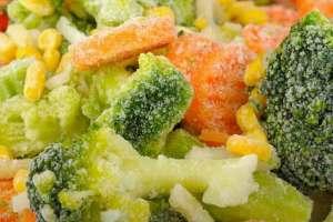 الفقد في قيمة المواد الغذائية أثناء تحضيرها للتجميد وبعده