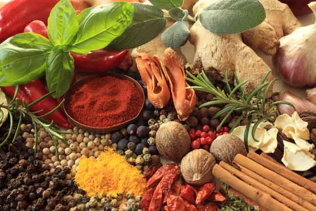 التوابل ومطيبات الطعام ثراء للنكهة وإثراء للصحة