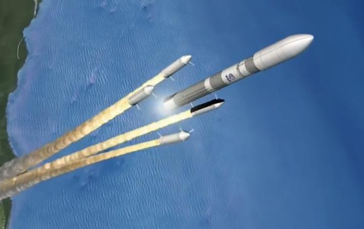 أوروبا ترفع النقاب عن صاروخ ثقيل جديد لها