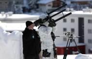 سويسرا تواجه الطائرات بدون طيار بمدافع التشويش خلال منتدى دافوس