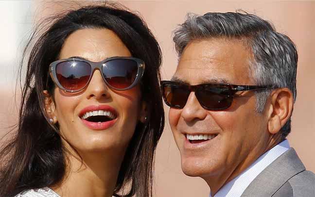 جورج كلوني وزوجته أمل ينتظران توأما