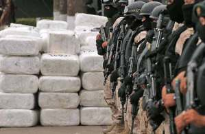 مصادرة كميات كبيرة من المخدرات