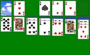 لعبة سوليتير الشهيرة